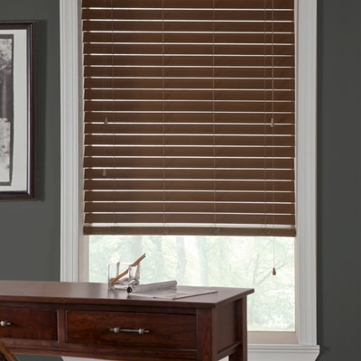 "Home Decorators Collection 2 5"" Wood Blind The Home Depot"