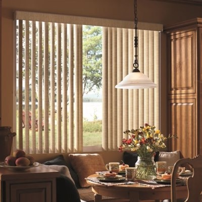 Bali Fabric Vertical Blinds The Home Depot