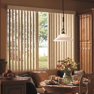 bali fabric vertical blinds the home depot. Black Bedroom Furniture Sets. Home Design Ideas