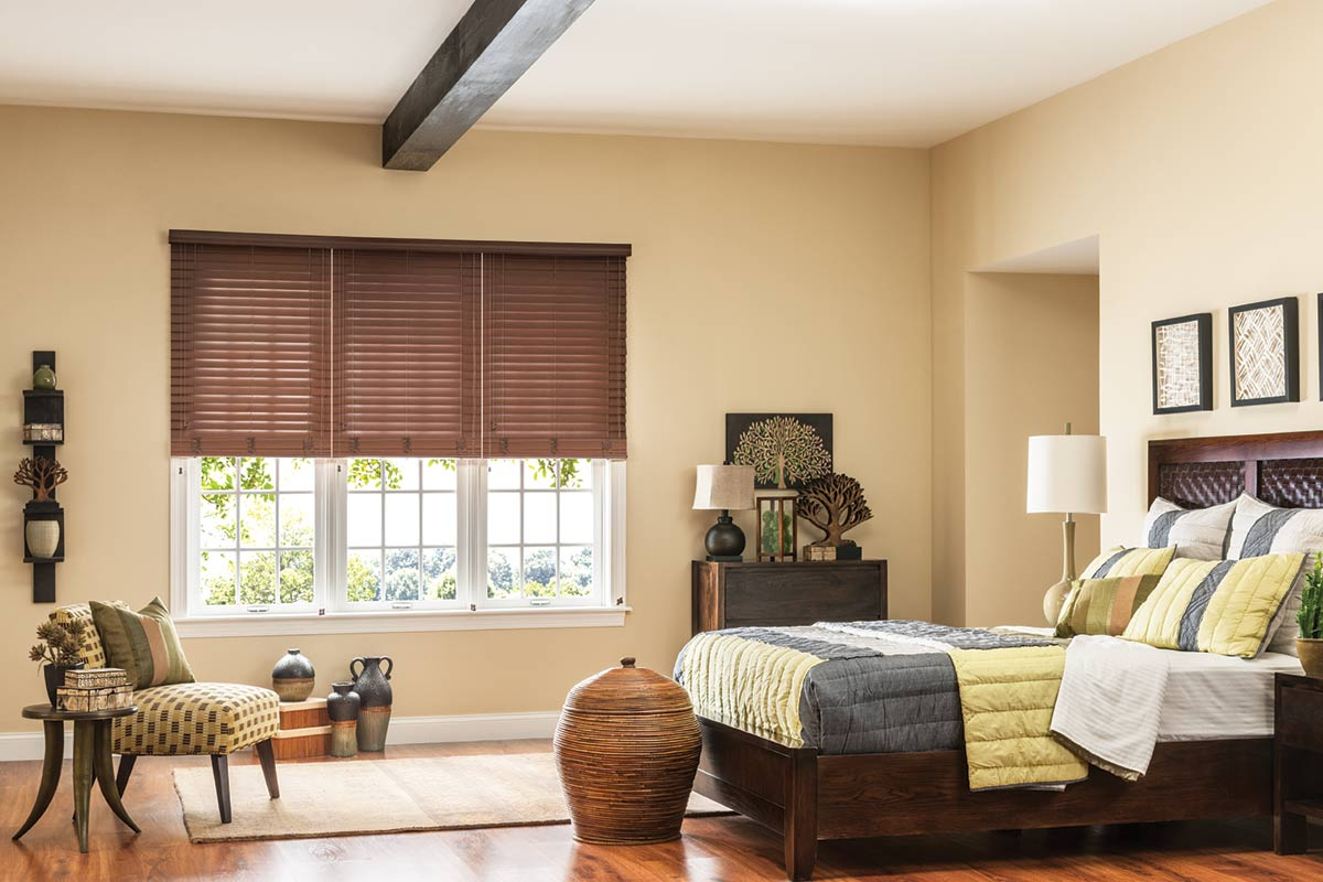 Bali Faux Wood Blinds With 2 In Slats
