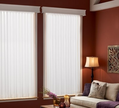 Bali Sheer Enchantment Soft Vertical Room Darkening Blind
