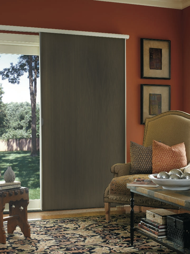 vertical honeycomb blinds blackout room darkening vertical cellular shade thehomedepot
