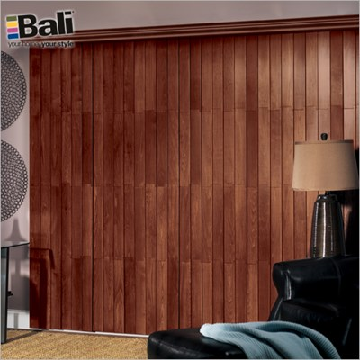 Bali Northern Heights Wood Vertical Blind The Home Depot