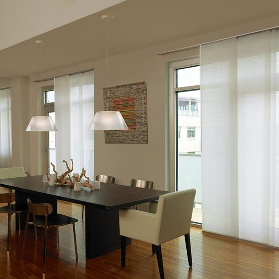 Panel Track Blinds - Blinds - Window Treatments - The Home Depot