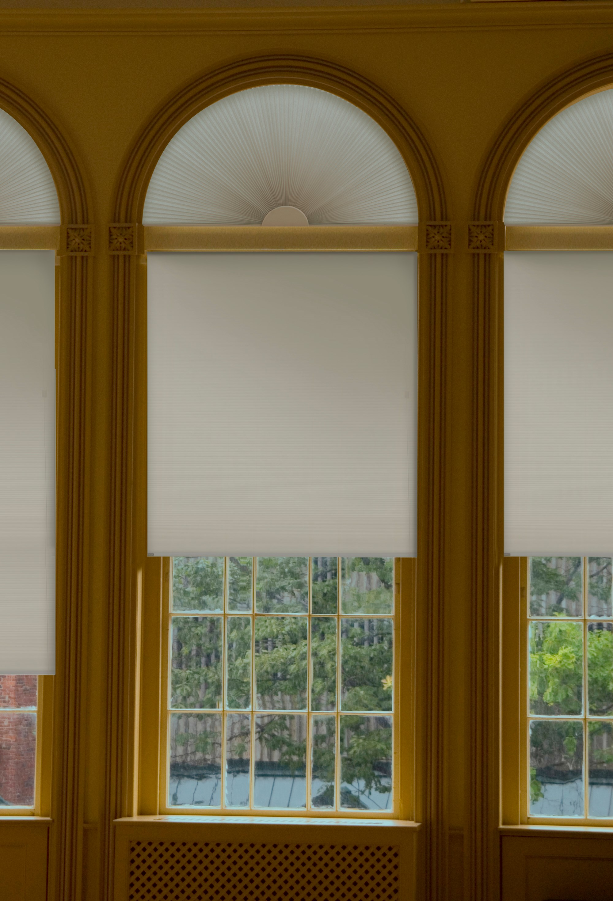 home decorators collection - skylight shades & arch blinds