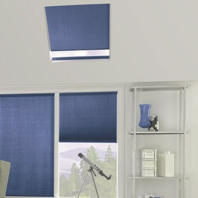 Window Blinds Home Depot >> Bali Pleated Skylight Shade - The Home Depot
