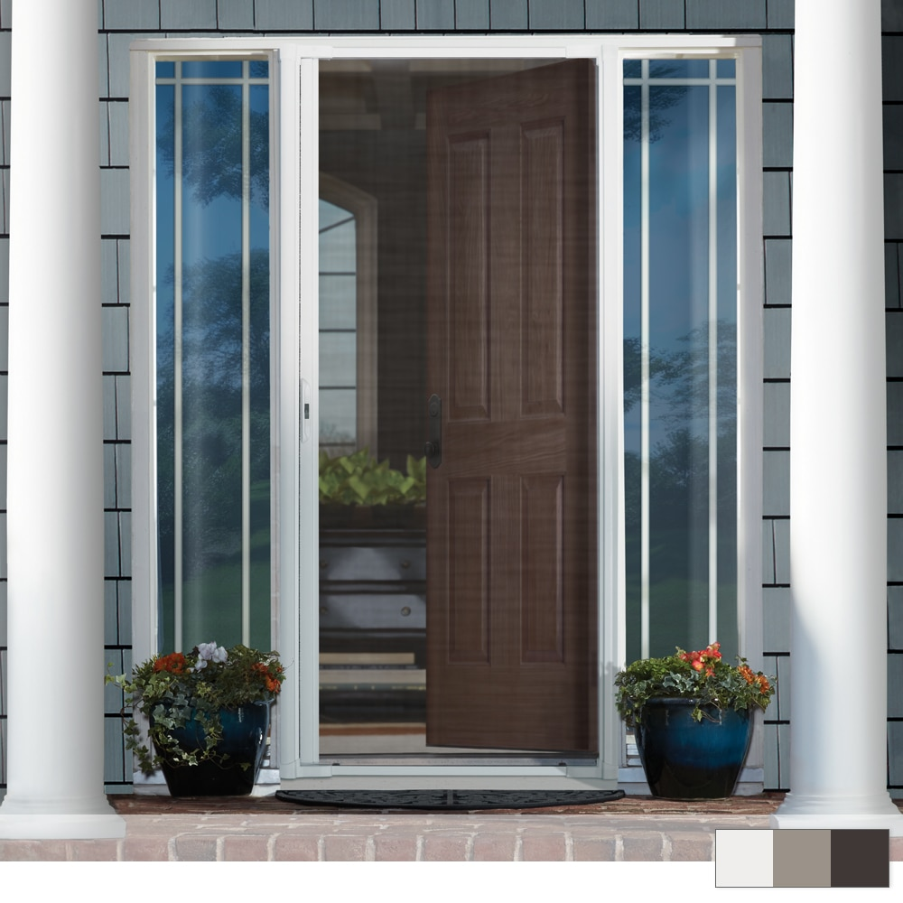 Andersen Luminaire Single Retractable Screen Door The