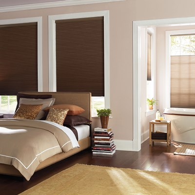 Levolor Accordia Room Darkening Cellular Shade The Home Depot