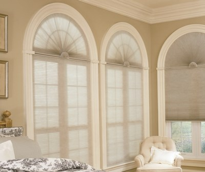 Levolor Accordia Light Filtering Arch Cellular Shade The
