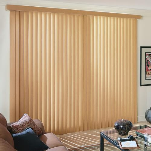 Fauxwood Vertical Blind