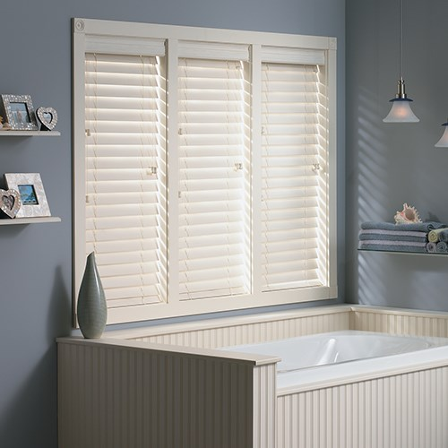 Faux Wood Blinds - Blinds - Window Treatments - The Home Depot