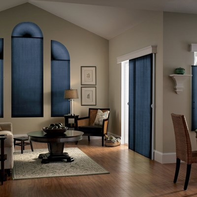 DiamondCell 38 Double Cell Light Filtering Arch The Home Depot