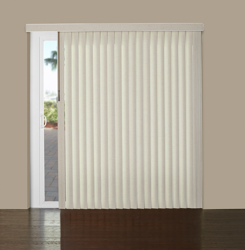 Marvelous 3.5 In. Vinyl Vertical Blind   S Shaped