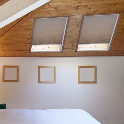 Home decorators collection room darkening skylight cellular shade the home depot - Home decorators collection blinds installation image ...