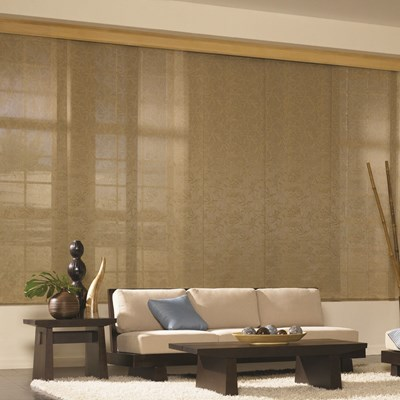 Bali Fabric Sliding Panel The Home Depot