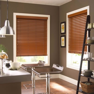Hampton Bay 2 In Economy Fauxwood Blinds The Home Depot
