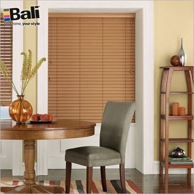 Bali Essentials 2 In Faux Wood Blind The Home Depot