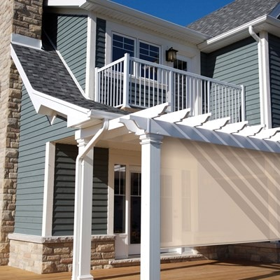 Exterior solar shade thehomedepot - Coolaroo exterior retractable window shades ...