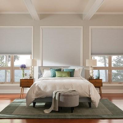 essentials room darkening cellular shade thehomedepot. Black Bedroom Furniture Sets. Home Design Ideas