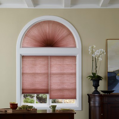 Light Filtering Arch Cellular Shade Thehomedepot