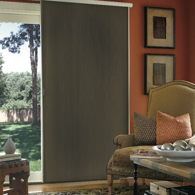 Room Darkening Vertical Cellular Shade | TheHomeDepot