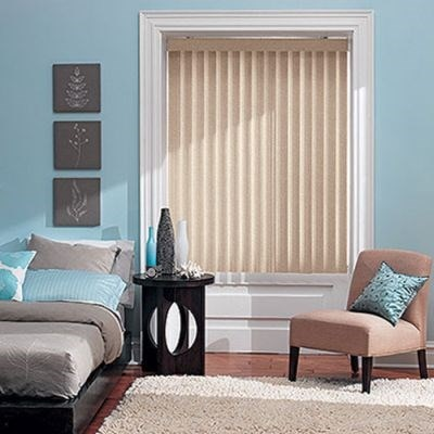 S Shaped Vinyl Vertical Blind Thehomedepot