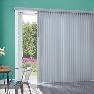 Essentials Vertical Blind Thehomedepot