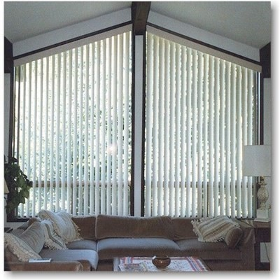 Bali Everglide Angle Top Vertical Blind The Home Depot