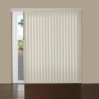 Vinyl Vertical Blind S Shaped Thehomedepot