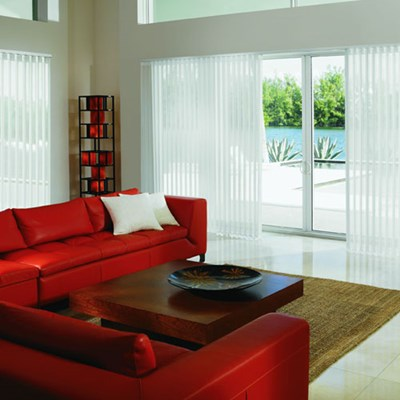 Perceptions Sheer Vertical Blind Thehomedepot