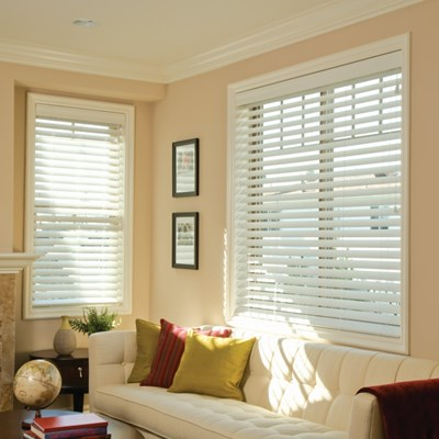 2 5 faux wood blind thehomedepot Home decorators collection faux wood blinds installation