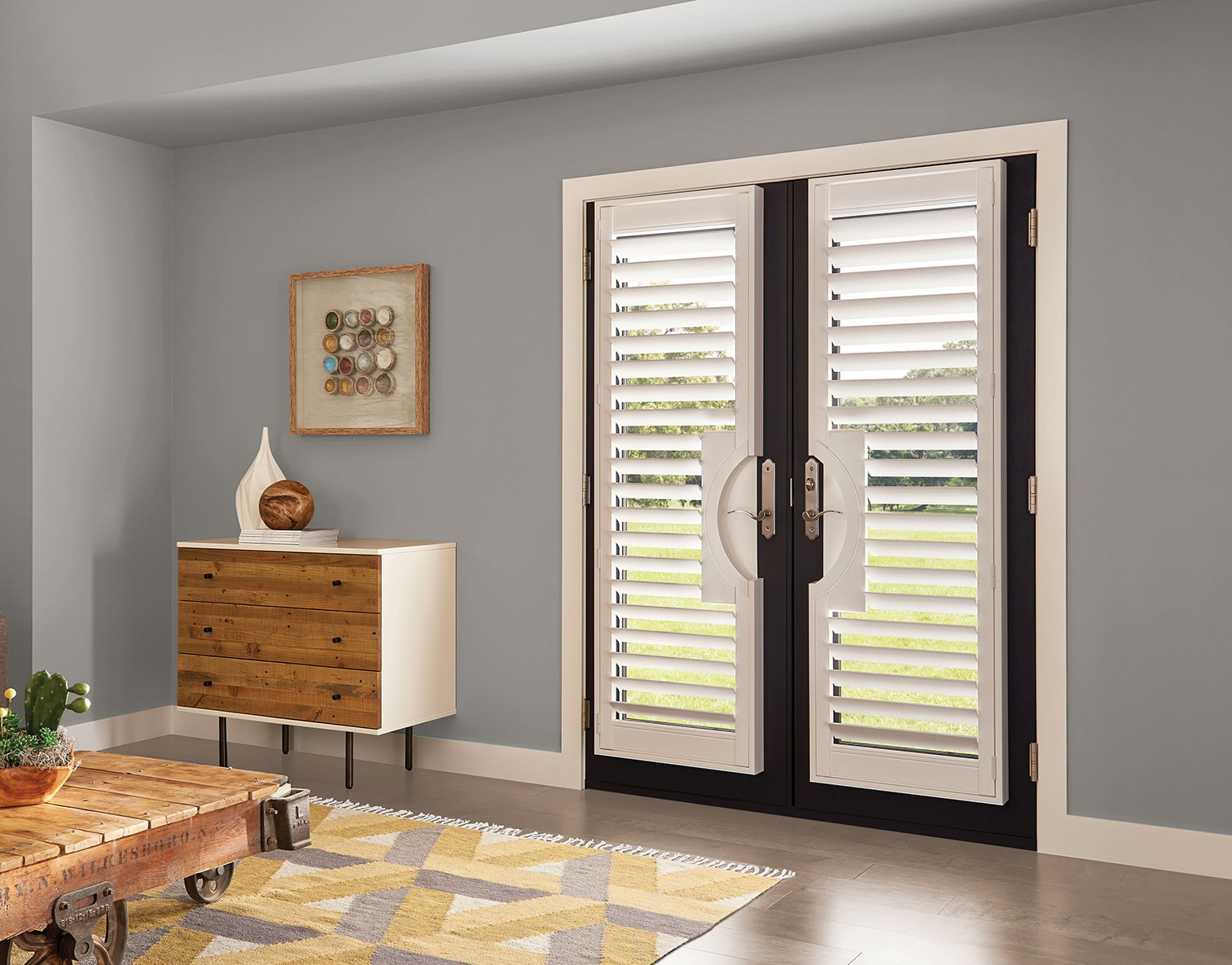 Levolor French Door Shutter Homedepot Com